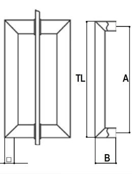 EK4 pull handle detail