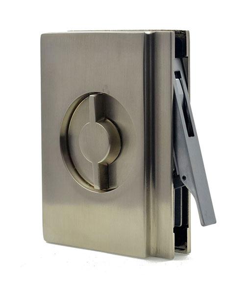 EM404 pocket door bathroom lock handle image 1