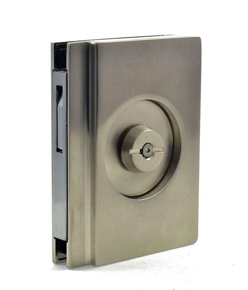 EM404 pocket door bathroom lock handle image 3
