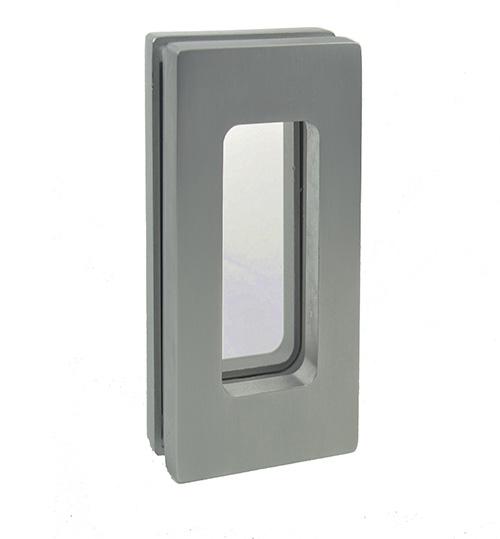 EM511 flush handle for glass pocket door