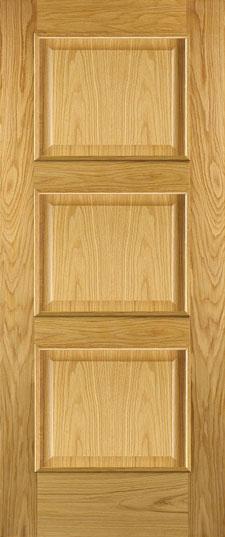 Adora 3 panel door Oak