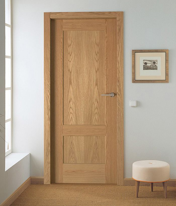 Arley flat panels - oak