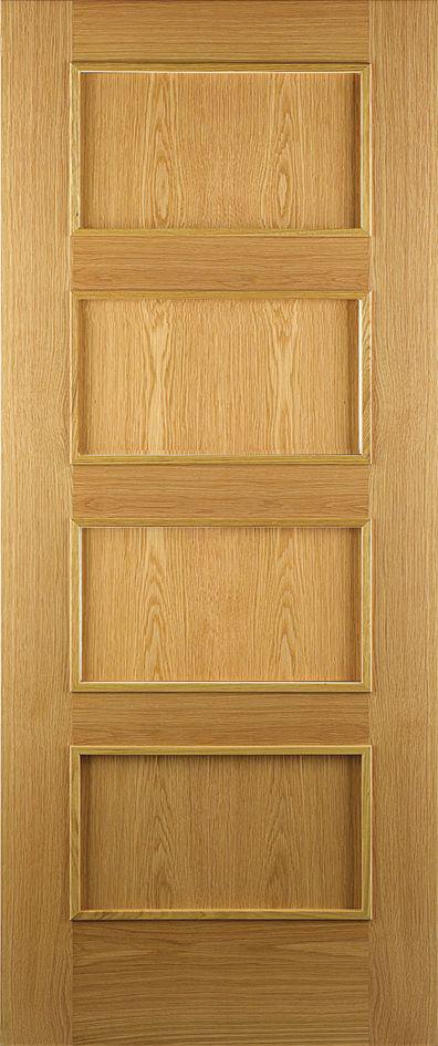 Burgos 4 panel door Oak
