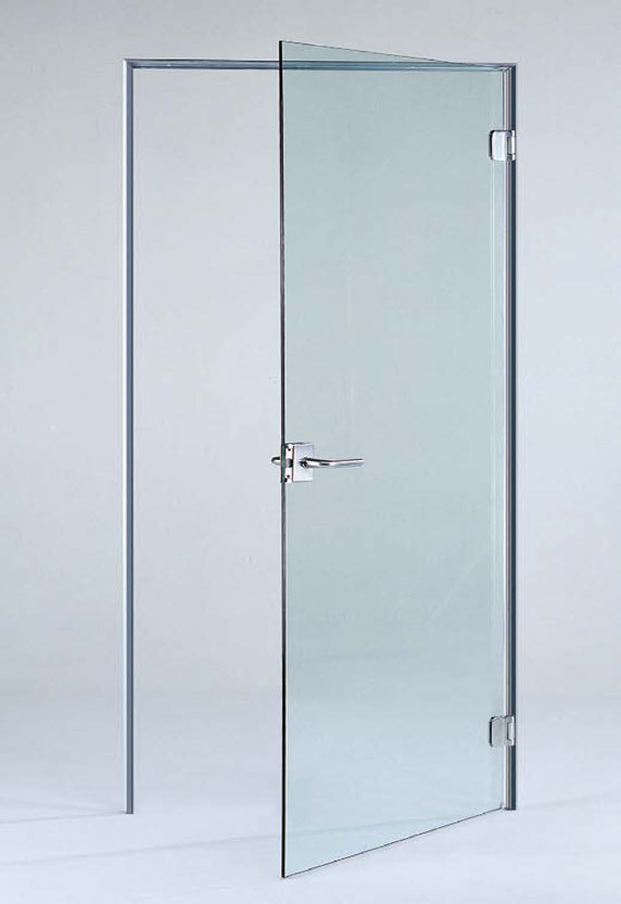 clear glass door - standard or low iron