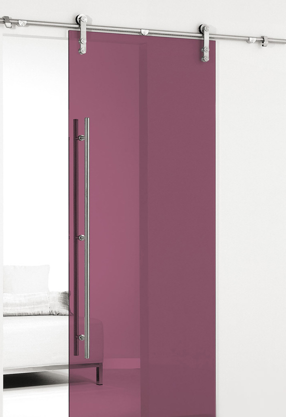coloured glass door - single colour or bi colour
