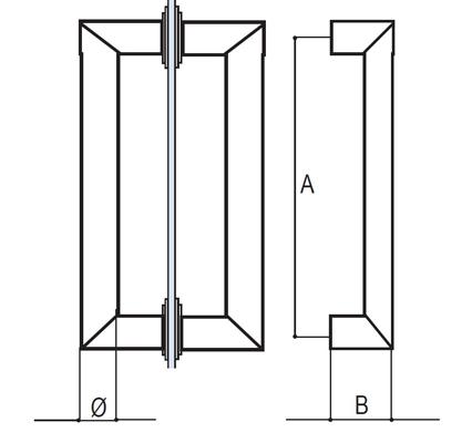 EKR10 pull handle detail