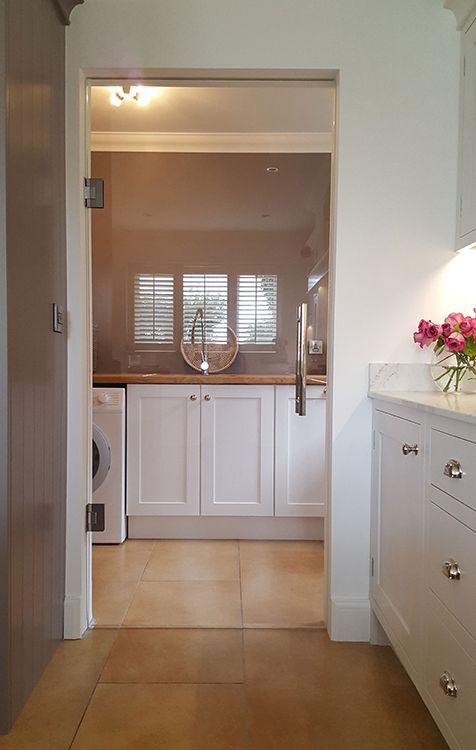 frameless glass kitchen door, clear