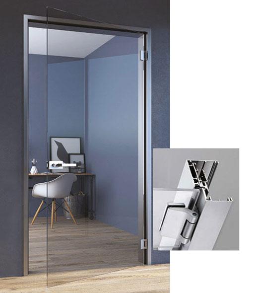 aluminium frame style 05 for glass door