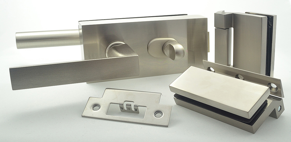 example bathroom lock set for glass door