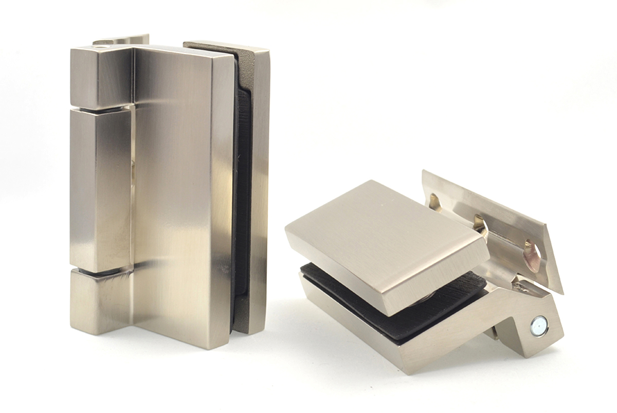 hinges for glass doors - cubo