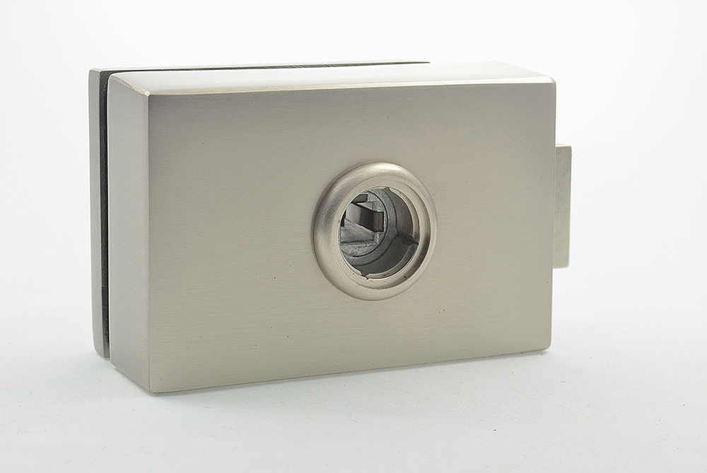 Cubo mini latch for glass door