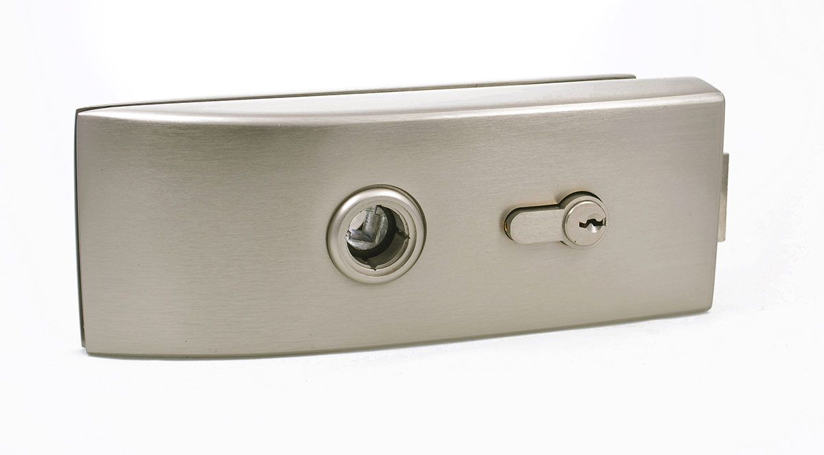 Enzo key lock for glass door