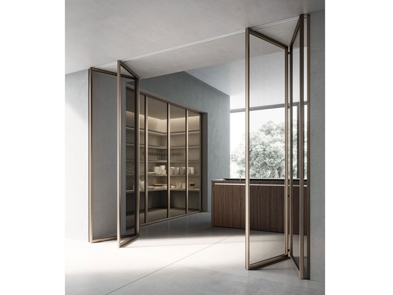 piazza grafic solo crittall style bifold doors