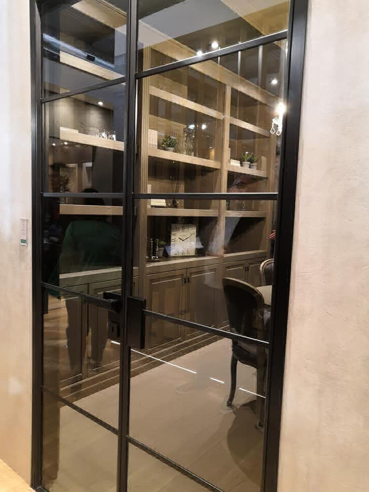 Graffic crittall style doors image 5