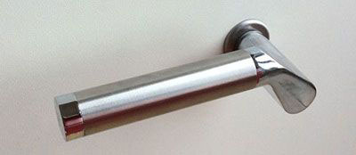 Carina handles for glass doors