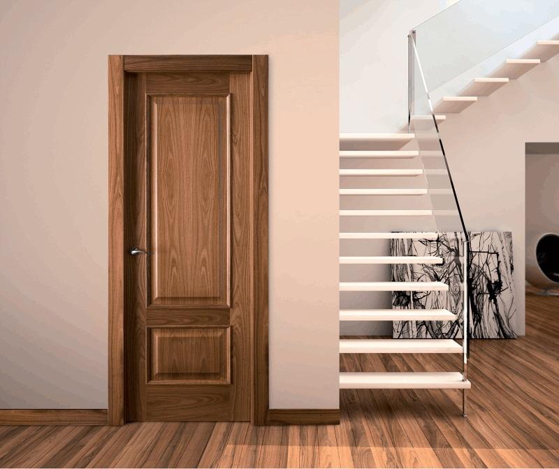 melia interior door in walnut