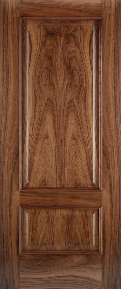 melia panel door in walnut