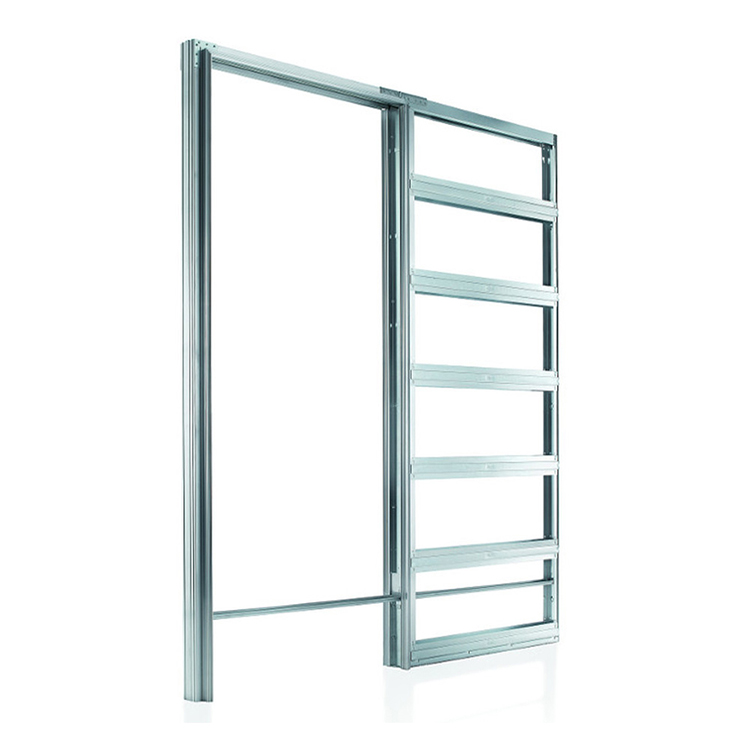 metal pocket for single doors