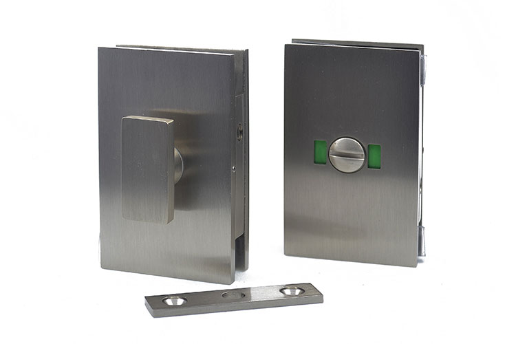 Privacy lock for glass doors - style 2