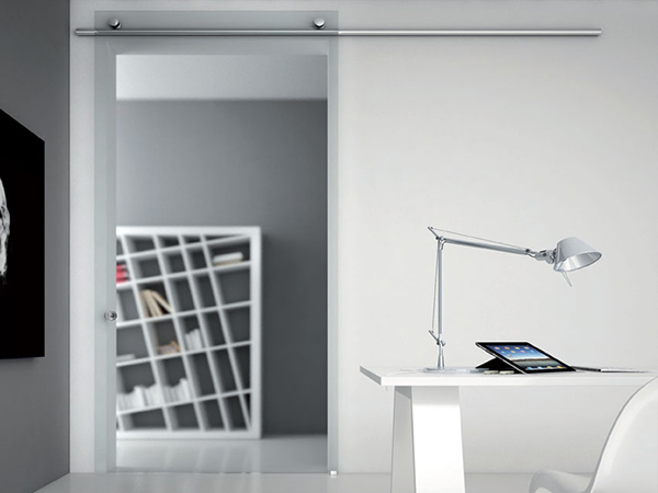 roto tracks for frameless glass