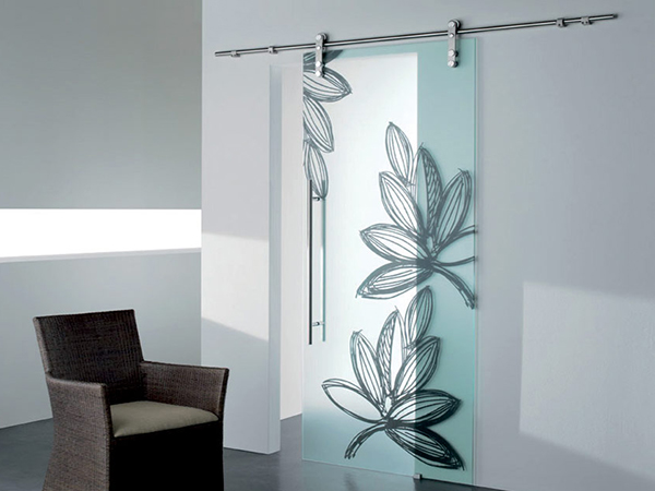 Slidetec tracks for frameless glass doors