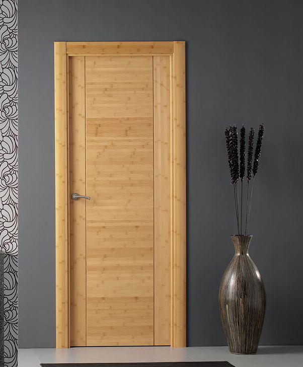 Linea Toledo door - bamboo